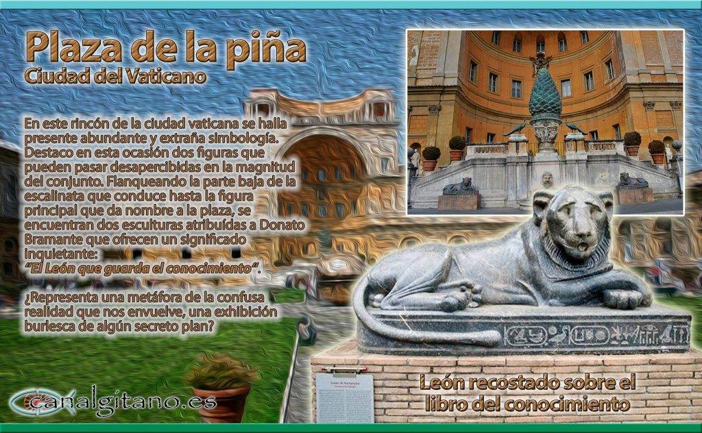 Vaticano: Plaza de la Piña