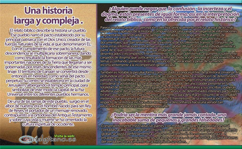 Canal Gitano - Una Historia larga y compleja - © ASR