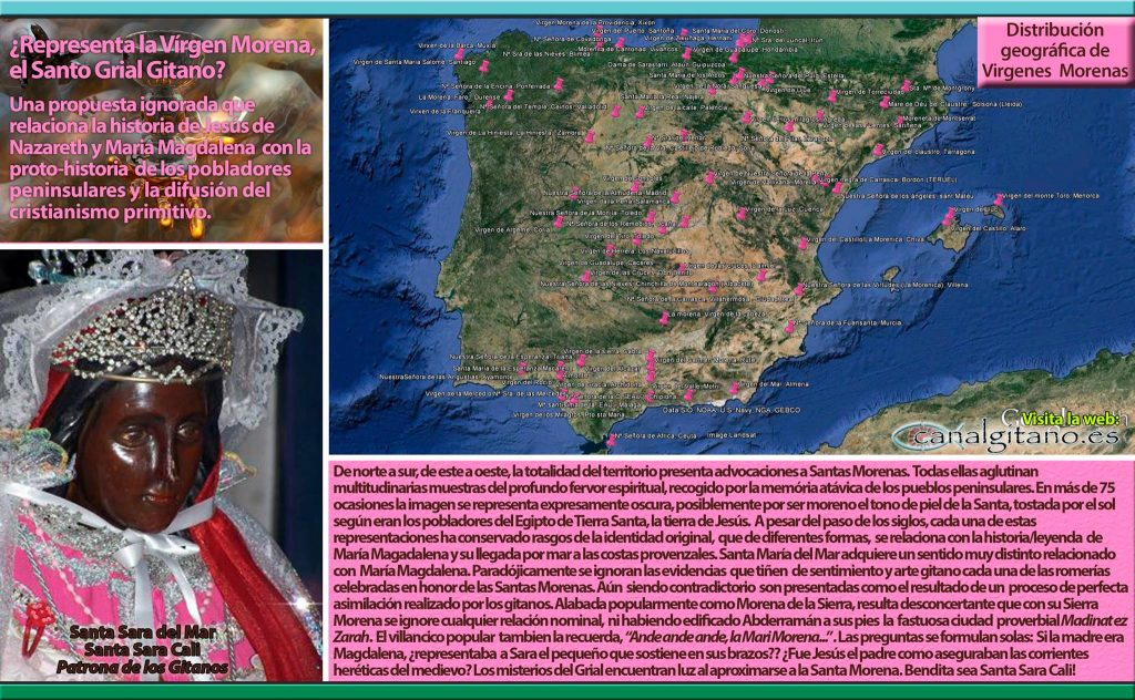 Representa la Virgen Morena, el Santo Grial Gitano?